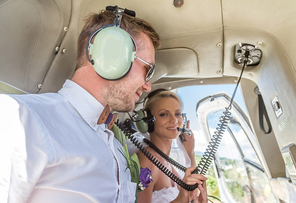 Wedding Helicopter Charters